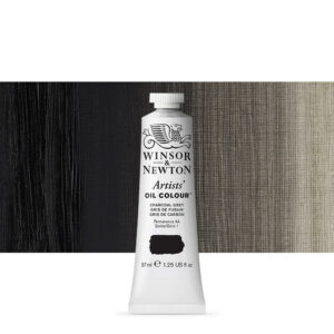 Charcoal grey Artists' Oil Colour PBk8